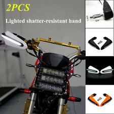 PP Motorcycle Hand Guards Rainproof Board LED lamp w/ Light Rainproof Windshield