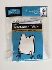 Children's Poly/Cotton Tzitzis, Tzitzit Sizes 2-7 Sefard FREE SHIPPING
