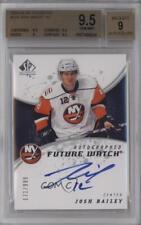 2008-09 SP Authentic #224 Josh Bailey BGS 9.5 New York Islanders RC Hockey Card