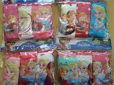 New girls Disney Frozen licensed 3 pack briefs underwear set cotton 2 to 8 years