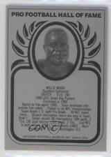 1988 1988-Present Pro Football Hall of Fame Metallic #WIWO Willie Wood Card