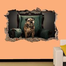 I cani Border Terrier Adesivi Murali 3D Arte Murale Camera Office Home Decor TA1