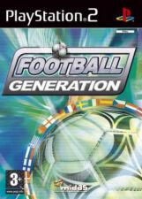 Football Generation PlayStation 2 PS2 Spiel Fußballspiel Sportspiel Footballspie