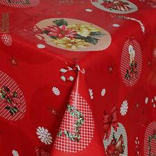 Wachstuch Tischdecke Weihnachten Merry Christmas 06074-00 eckig rund oval