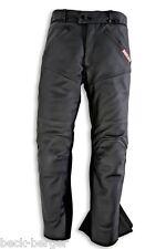 DUCATI Dainese Company Lederhose Hose Leather Pants schwarz NEU !!