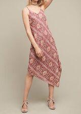 Anthropologie Lilou Beaded Slip Dress $458 Sz 2 - NWT
