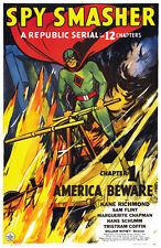 Spy Smasher - 1942 - Movie Poster