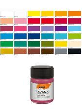 (7,78 eur/100 ml) javana tex Sunny stoffmalfarbe 50 ml de color textil sustancias brillantes