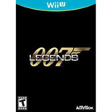 007 Legends USED SEALED (Nintendo Wii U, 2012)