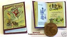 1202# Kinderbuch mit engl. Kinderreimen - Nostalgieausgabe - Puppenstube M 1zu12