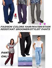 Stylist Groomer Barber Nylon Grooming Hair,Water&Stain Resistant PANTS Trousers