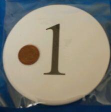 MATRIMONIO / ANNIVERSARIO / Conferenza partito tabella Numeri CARDS 1-12 in bianco o avorio