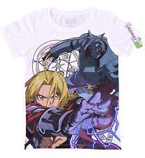 **Legit** Fullmetal Alchemist Ed and Al Brother Juniors Authentic T-Shirt #59602