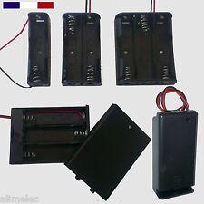 Support de piles AA AAA LR03 LR3 LR06 LR6 - 1P 2P 3P 4P - 6F22