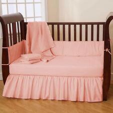 Unisex Baby Bedding Plain Bumper Solid Color Crib/Mini crib/Cradle