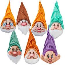 Snow White Seven Dwarfs Masks Adults Fancy Dress Fairy Tale Dwarf Costume Acc
