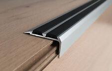300cm !!- ALUMINIUM ANTI NON SLIP STAIR EDGE NOSING -TRIM-STAIR NOSING