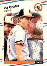 1988 Fleer Update Baseball Base Singles (Pick Your Cards)