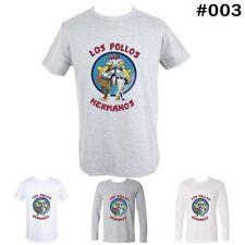 LOS POLLOS HERMANOS Breaking Bad chicken Design Men's Boy's T-Shirt Tees Tops