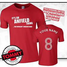 Liverpool T-Shirt Fan, la sua una cosa Anfield, CALCIO IDEA REGALO LFC