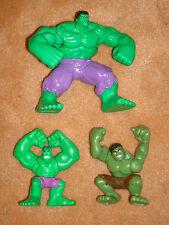 x3 THE INCREDIBLE HULK Action Figure Marvel Comic Book Hero Figurine Toy