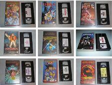 PELICULAS DIBUJOS ANIMADOS DISNEY - MANGA - ANIME - VHS ESPAÑOL - ELIGE LA TUYA