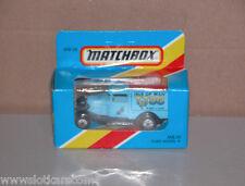 Matchbox mb 38 Ford A TT 86 (26 mai-6 juin) Isle of man bleu NB ! (#A4)