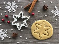 Snowflake Xmas Cookie Cutter 11 | Christmas | Fondant Cake Decorating | UK