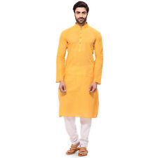 100% Cotton Kurta Pajama For Men Festival Indian Clothing Wedding Ethnic Dress_2