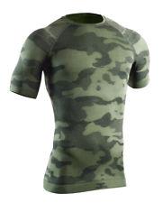 Herren Funktionsshirt TACTICAL, kurzarm, Silberfasern, Camouflage Shirt, 1103gr