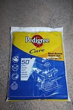 Pedigree soins 50 recharge easi-scoop chien POO, dunette, sacs de déchets NOUVEAU!!!