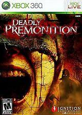 Deadly Premonition (Microsoft Xbox 360, 2010) *COMPLETE*