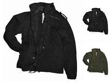 CI US Feldjacke M65 Vintage Jacke Herrenjacke Einsatzjacke Schwarz Oliv S-XXL
