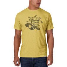 Wichita State Shockers 47 Brand Yellow Black Big Mascot Logo Scrum T-Shirt