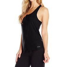 Calvin Klein Women's Impact French Terry Sleep Tank - QS1710 Retail $36.00