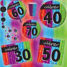 Geburtstag Party Deko ZAHL Geburtstagsfeier Jubiläum Geburtstagsdeko Dekoration
