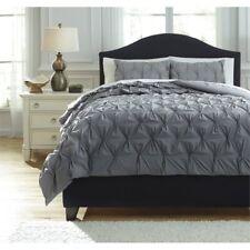 Ashley Rimy King Comforter Set in Gray