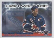 2000 Pacific Vanguard High Voltage #23 Mark Messier New York Rangers Hockey Card
