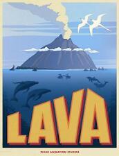 LAVA PIXAR MOVIE POSTER MAIN FILM A4 A3 ART PRINT CINEMA