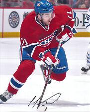 Louis LEBLANC Signed MONTREAL CANADIENS 8x10 Photo