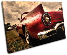 Classic Car Transportation SINGLE LONA pared arte Foto impresion