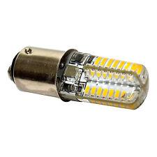 HQRP Bombilla LED 110V 3W BA15d para Singer 15-9900 modelos de máquina de coser