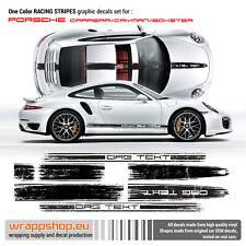 Scratched Porsche Carrera / Cayman / Boxster Racing Stripes set