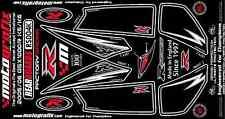 Suzuki GSXR 1000 GSXR1000 K5 K6 Rear Fairing Number Board 3D Gel Protector