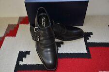 Ralph Lauren Purple Label Edward Green Ancel Double Monk Strap Loafer Shoes