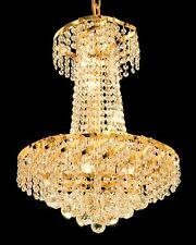 Palace Toro 8 light Crystal Chandelier Light Fixture  - Gold Precio Mayorista