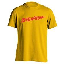 Baewatch Funny  Humor  Swim Gold Men's T-Shirt