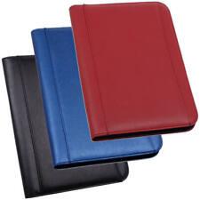 Schreibmappe Dokumentenmappe Aktenmappe DIN A4 Mappe Gentle schwarz  blau  rot