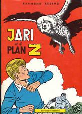 REDING - Jari et le Plan Z. Bedescope 1980. Etat neuf