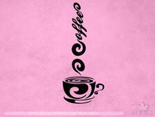 Coffee Decal | Coffee cup sticker | Espresso | Vinyl Sticker & Wall Decals